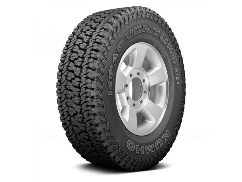 Kumho 265/70 R 17 At51 (M&s) 113 T 4X4 Offroad Lastik